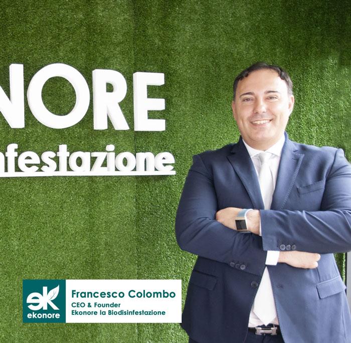 Francesco Colombo Ceo Founder Ekonore La BioDisinfestazione
